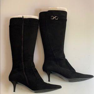 Bandolino Black Suede style boots